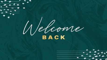 Welcome Back - Forest Marble (88254)
