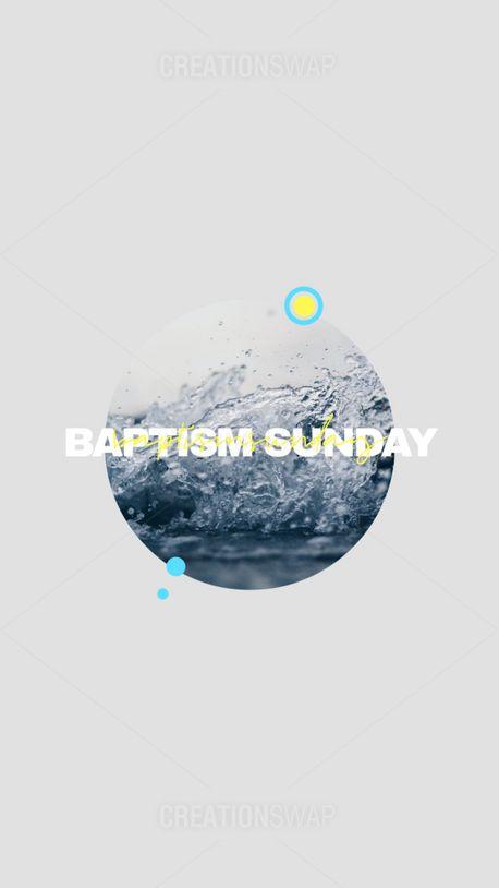 Baptism Sunday (88256)
