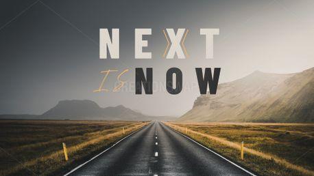 Next is Now Sermon Series (88287)