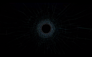 Wireframe Tunnel loop