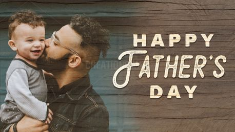 Happy Father's Day Wooden (88391)