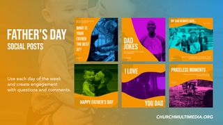 Fathers Day Social Graphic