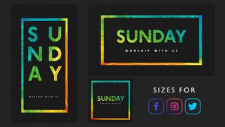 Sunday Worship Invite