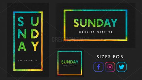 Sunday Worship Invite (88450)