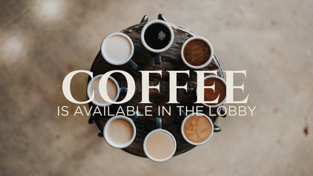 Coffee Available Slide (88749)