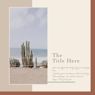 Desert Template | Two