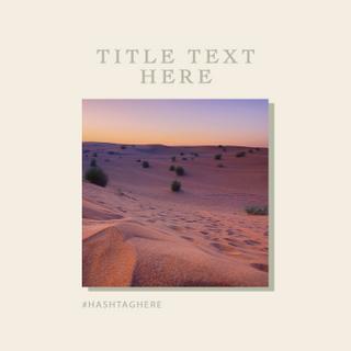Desert Template | Six