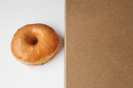 Glazed Donut and Box (88824)