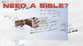 Need a Bible?