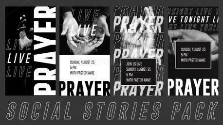 Live Prayer Social Stories (89414)