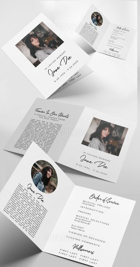 Minimal Funeral Folder (89426)