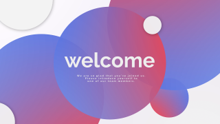 Modern Welcome Motion Title