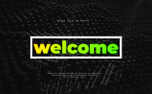 Modern Welcome Motion Title (89494)