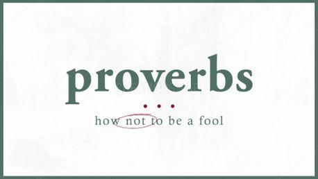 Proverbs (89546)