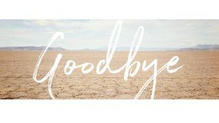 Desert Goodbye