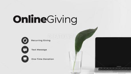Online Giving (89655)