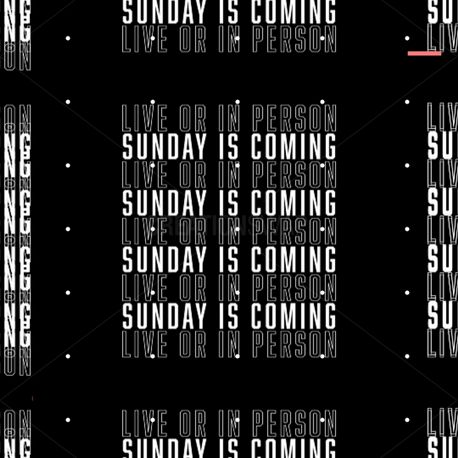 Sunday is Coming (89721)