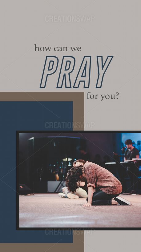 How can we pray for you? (89760)