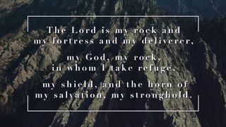 Slate Cliff : Psalm 18:2