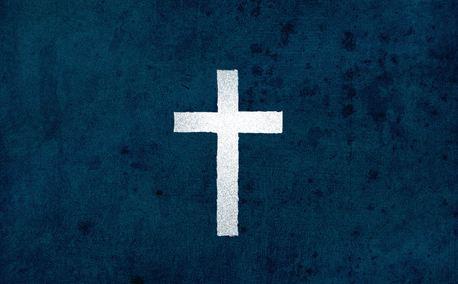 Worn Cross (9074)