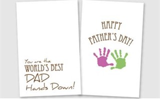 Father's Day - Toddler Craft