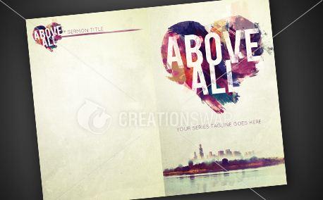 Above All | Bulletin  (9326)