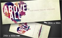 Above All | Banners