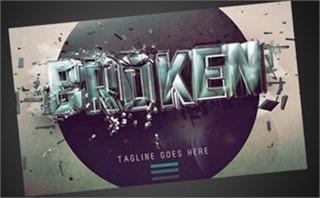 Broken Series | Invite Card