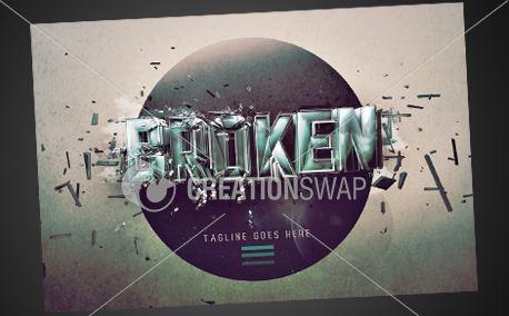 BROKEN SERIES | Postcards (9523)