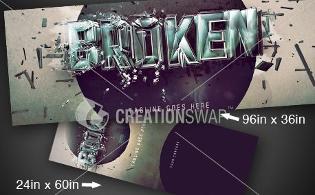 BROKEN SERIES | Banners (9525)