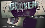 BROKEN SERIES | Banners (9526)