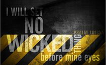 I will set No Wicked Thing