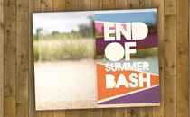 end of summer bash bullentin