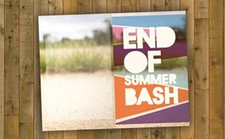 end of summer bash bullentin