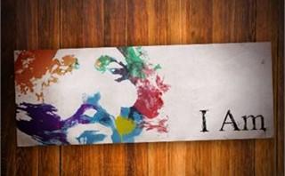 I Am | 8' x 3' Banner