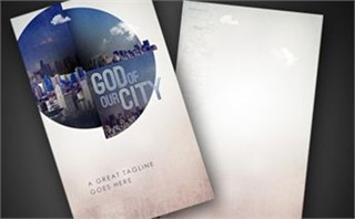 God Of Our City | Invite Card