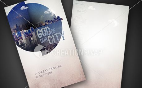 God Of Our City | Invite Card (9843)