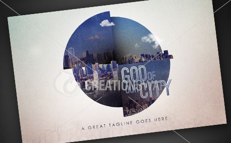 God Of Our City | Postcards (9844)
