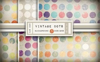 Vintage Dot Backgrounds