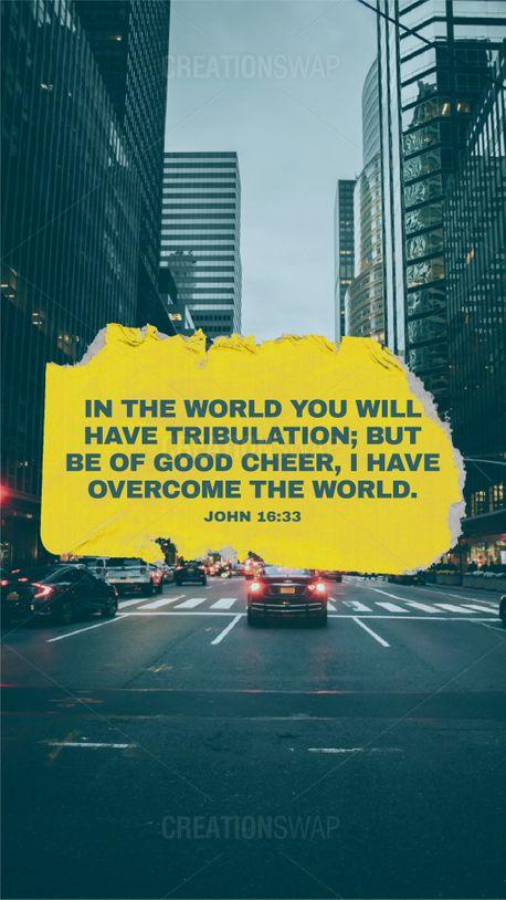 John 16:33 (90031)