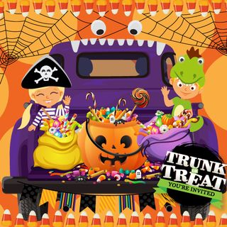 Trunk or Treat You're Invited