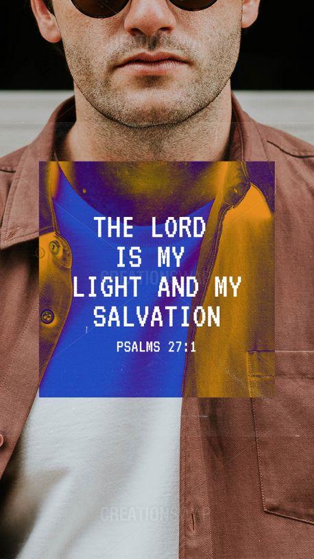Psalms 27:1 (90137)