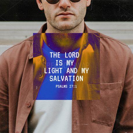 Psalms 27:1 (90139)