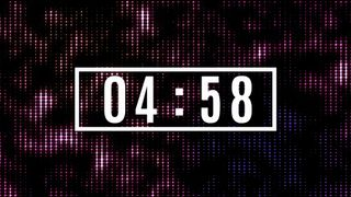 5 min. particle countdown