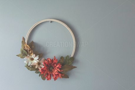 Simple Fall Wreath (90226)