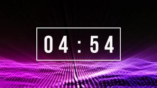 Particle lights countdown