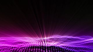 particle lights background