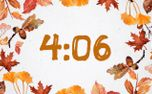 Autumn Countdown  (90404)