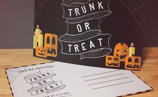 4x6 Trunk or Treat Invite