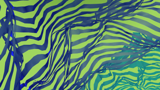 Multi-Ribbon Background 2
